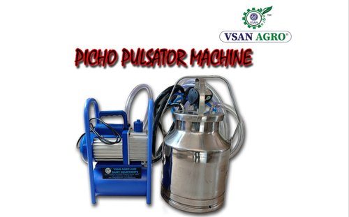 VSAN AGRO Picko Pulsator Milking Machine