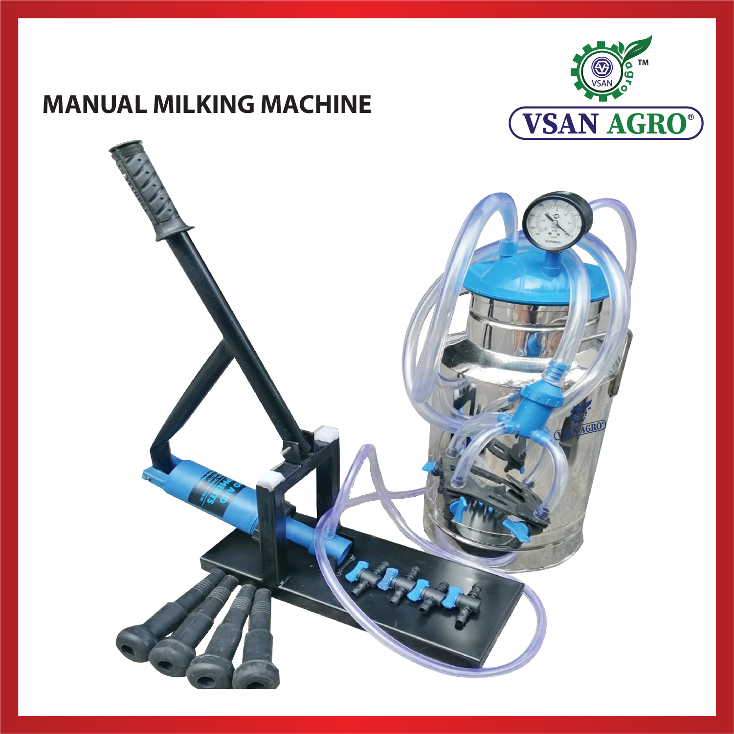 VSAN Manual Milking Machine