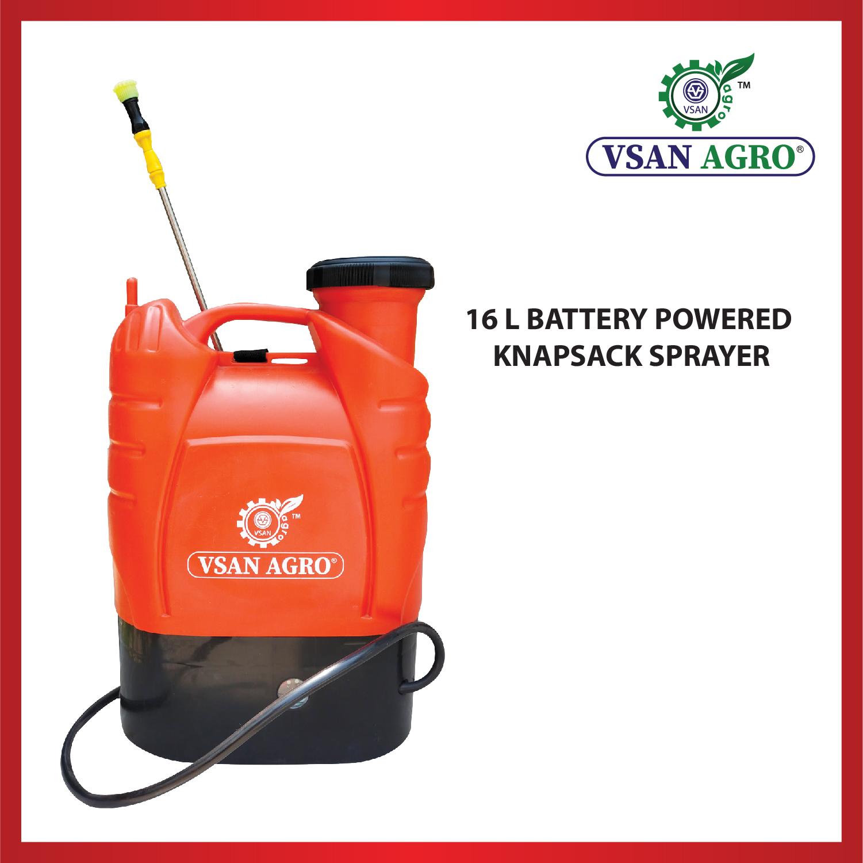 VSAN 16L Battery Powered Knapsack Sprayer