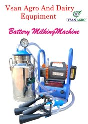 Battery Operated Milking Machine