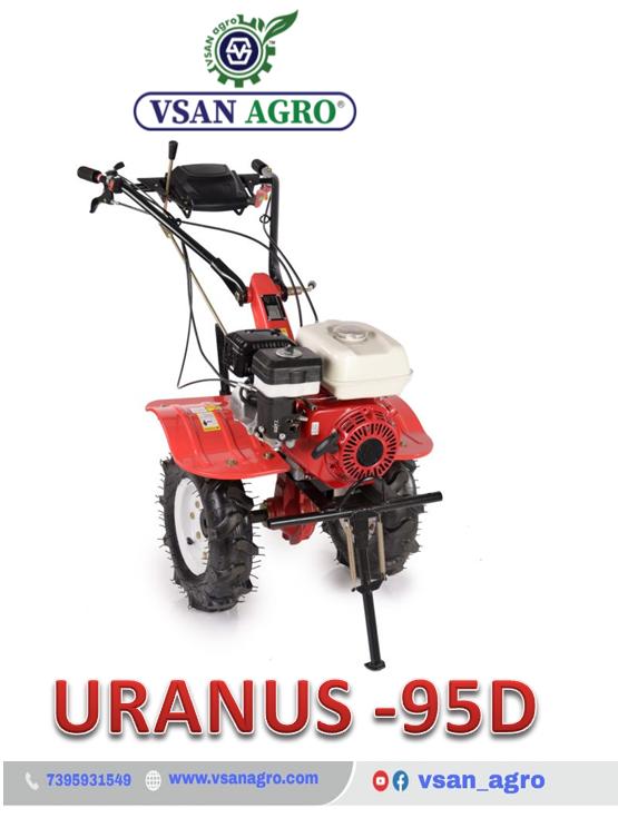 URANUS – 95D Diesel Power Tiller